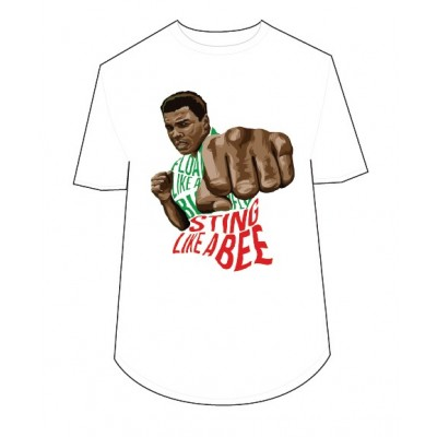 CAMISETA GREAT MUHAMMAD ALI BLANCA