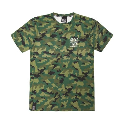 CAMISETA CAMUFLAJE JUNGLE