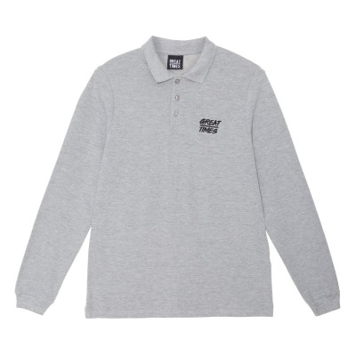 POLO GREAT TIMES FW18 GRIS
