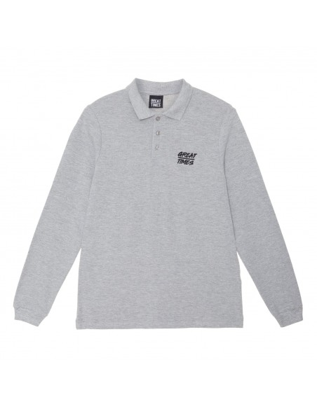 POLO GREAT TIMES SS19 GRIS