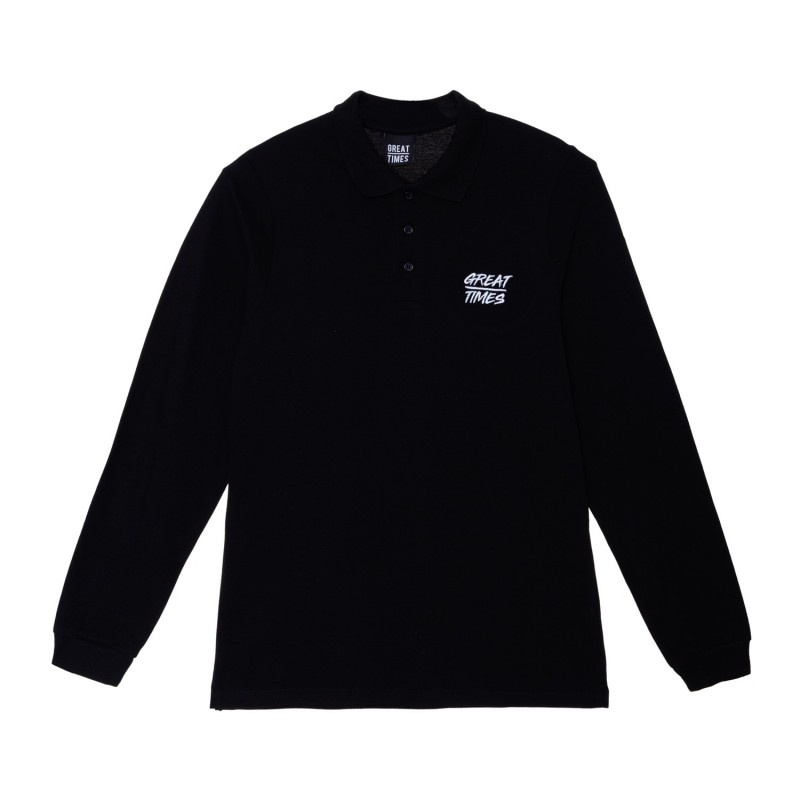 POLO GREAT TIMES FW18 NEGRO
