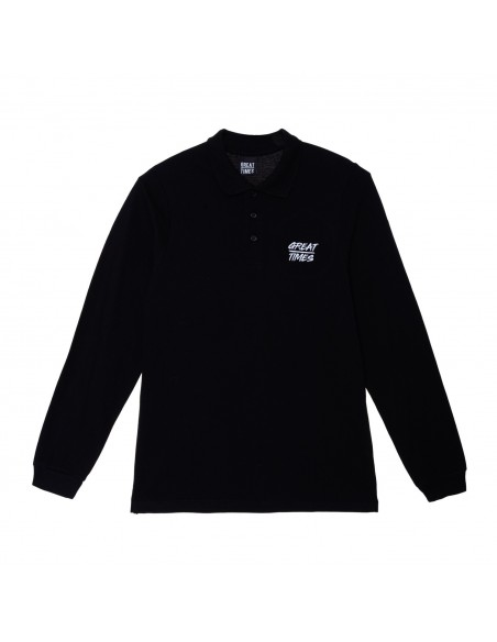 POLO GREAT TIMES SS19 NEGRO