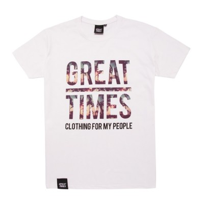 CAMISETA PALMS GREAT TIMES