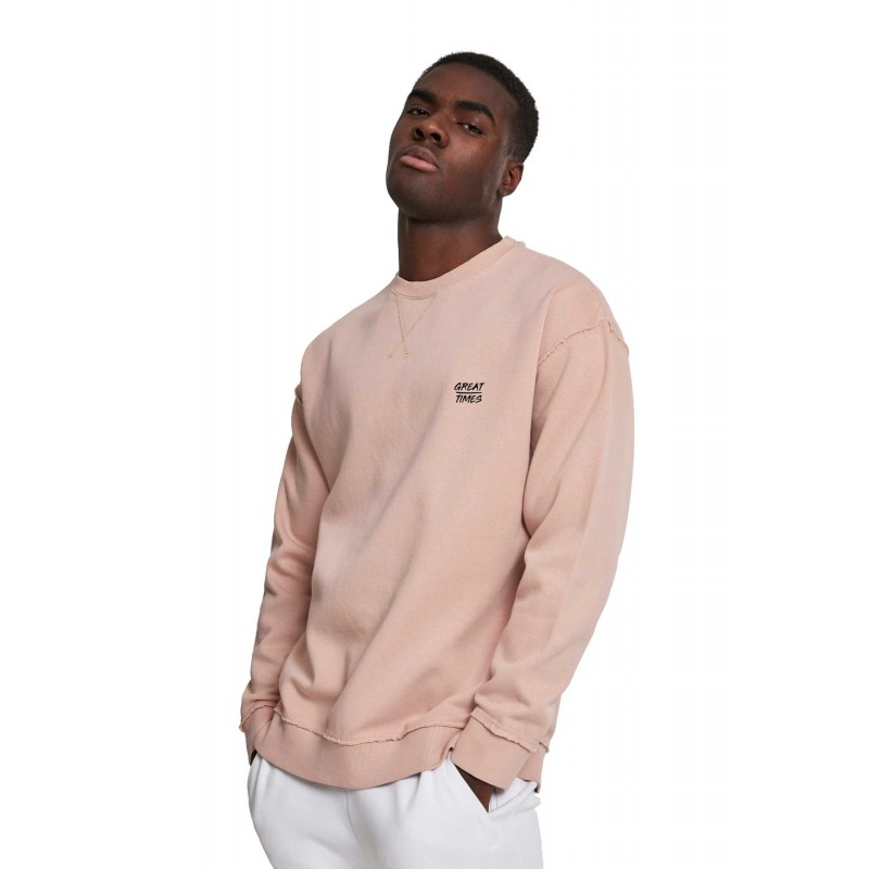SUDADERA COSTURAS LIGHT ROSÉ FW19