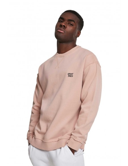 SUDADERA COSTURAS LIGHT ROSÉ SS21