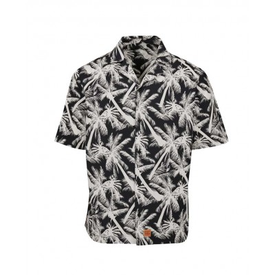 CAMISA GREAT TIMES PALM WHITE SS21